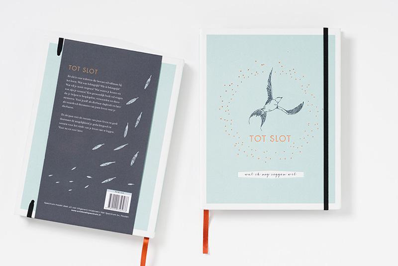 Tot slot, invulboek, ontwerp Suzanne Nuis, Hit Ontwerp, illustraties Hyshil Sander